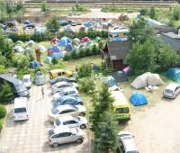 Pole namiotowe U Zdzicha
